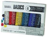 Basics 6 Acrylic Paint Set