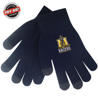 LogoFit SmartTouch iText Gloves - Navy (Small)