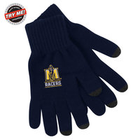 LogoFit SmartTouch iText Gloves - Navy (Large)