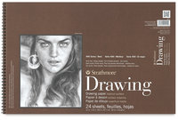 STRATHMORE DRAWING PAD- SERIES 400- 12X18