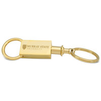 Murray State Valet Keyring - Academic Logo (Gold)