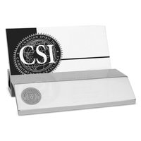 Murray State Business Card Holder - Silver Tone w/Academic Seal