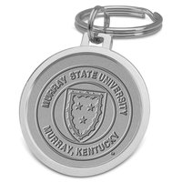 Murray State Academic Seal Keyring (Silver)