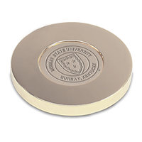 Murray State Round Paper Weight - Gold w/Academic Seal