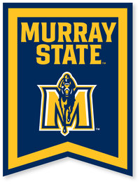 "18"" x 24"" Murray State Banner - JH Logo"