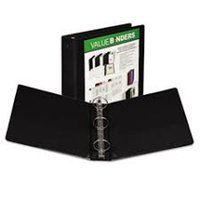 "2"" OVERLAY BINDERS-BLACK"
