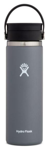 HYDROFLASK 20 OZ WIDE MOUTH WITH FLEX SIP LID- STONE F20