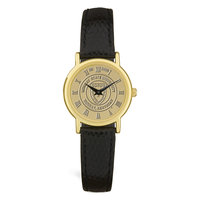 Murray State Ladies' Watch - Gold Academic Seal & Black Wristband