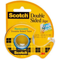 238 SCOTCH DOUBLE STICK TAPE 3/4X300