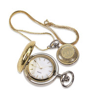 Murray State Ladies' Locket Watch - Gold-Plated w/Academic Seal
