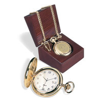Murray State Pocket Watch w/Chain - Gold w/Academic Seal