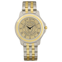 Murray State Men's 2-Tone Stainless Steel Watch - Gold Academic Seal