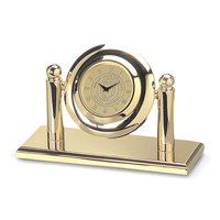 Murray State Arcade Desk Clock - Gold w/Academic Seal