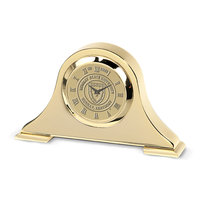 Murray State 'Napoleon' Desk Clock - Gold w/Academic Seal