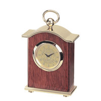 Murray State Carriage Desk Clock w/Academic Seal