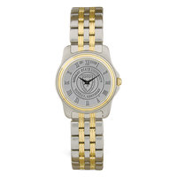 Murray State Ladies' 2-Tone Stainless Steel Watch - Silver Academic Seal
