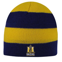 LogoFit Columbia Beanie - Navy/Gold Striped