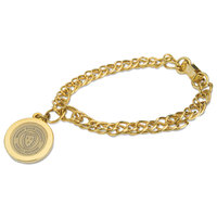 Murray State Charm Bracelet w/Academic Seal - Gold