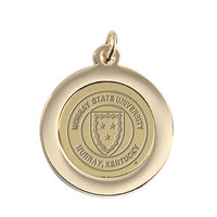 Murray State Pendant - Gold Academic Seal