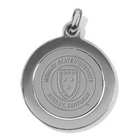 Murray State Pendant - Silver Academic Seal