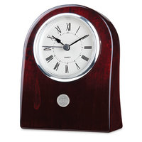 Murray State 'Miranda' Desk Clock - Silver w/Academic Seal