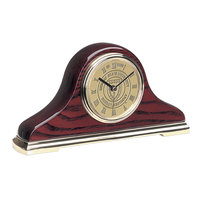 Murray State 'Napoleon 2' Wooden Mantle Clock - Gold w/Academic Seal