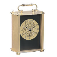 Murray State Brass Clock w/Glass Front & Academic Seal