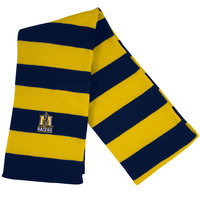 LogoFit Rugby Scarf - Navy/Gold