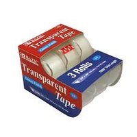 905- 3 PK TRANSPARENT TAPE