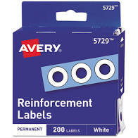 AVERY REINFORCEMENTS 200 CT