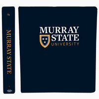 "1"" PICTORIAL BINDER - ACADEMIC LOGO"