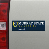 Alumni Decal w/Academic Logo (small)