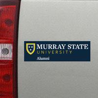 Alumni Decal w/Academic Logo (small)