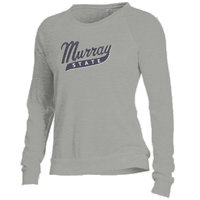 A LSS 1 LADIES ECO GREY SLOUCHY CREW S20 M