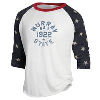 Alternative Ladies Baseball Tee - Ivory/Stars