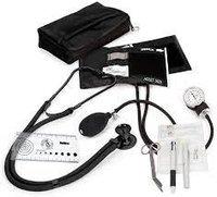 Aneroid Sphygmomanometer / Sprague-Rappaport Nurse Kit-Black