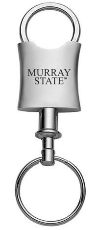 Murray State Valet Keyring - 'Murray State' (Silver)
