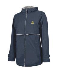 Charles River Ladies Rain Jacket - Navy