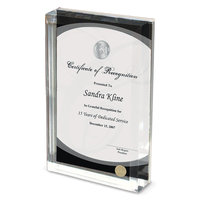 Murray State Lucite Frame w/Silver Academic Seal