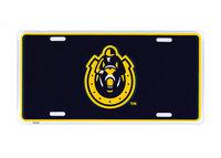Murray State Baked Enamel License Plate - Horseshoe Logo