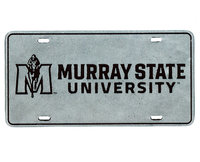 Murray State Pewter Vanity Plate w/JH Logo