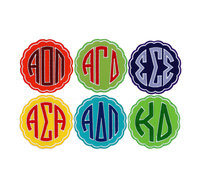 Sorority Embroidered Stickers