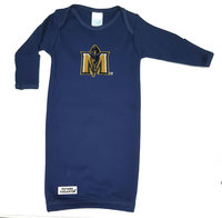 Future Tailgater Infant Gown w/JH Logo - Navy