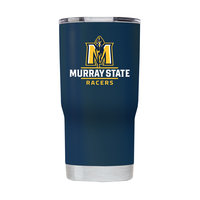 Gametime Powder Coat Stainless Steel Tumbler - Navy