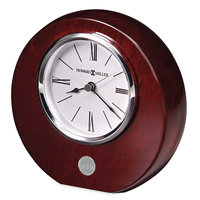 Murray State Rosewood Desk Clock - Silver w/Academic Seal