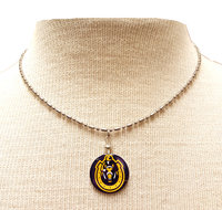 Murray State Pendant Necklace w/Horseshoe Logo