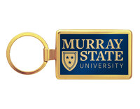 Murray State Maverick Key Tag - Academic Logo (Gold)