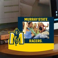 PICTURE FRAME STANDEE MURRAY STATE RACERS