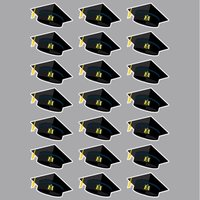 Graduation Cap Sticker Sheet
