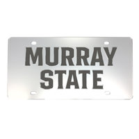 Murray State Mirrored License Plate